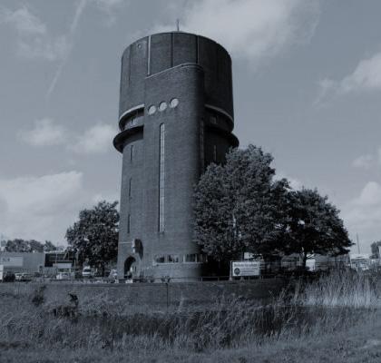 Sims kantoor Watertoren